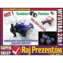 Samochód Tumbler / Twister - szalony tancerz / akrobata